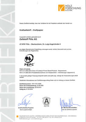 PEFC Zertifikat (536,2 KB)