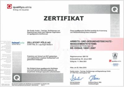 Arbeits- Gesundheits- und Sicherheits-Managementsystem ISO 45001:2018 (405,5 KB)