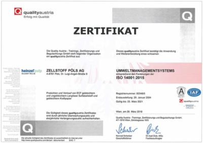 Umwelt Management ISO 14001: 2015 (405,0 KB)