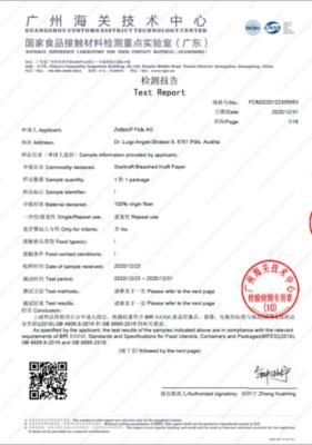 Nationaler Chinesischer Standard gemäß GB 9685 / GB 4806.8 (551,1 KB)