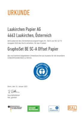 Der Blaue Engel GRAPHOSET BE (226,2 KB)