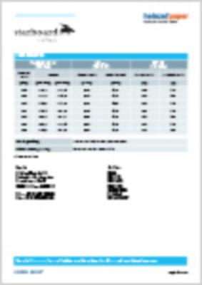 starboard IceWave Produktspezifikationen (27,4 KB)