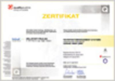 BS OHSAS 18001 Zertifikat (1,1 MB)