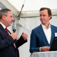 Bürgermeister Fritz Feichtinger & Christoph J. Heinzel